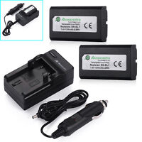 2x EN-EL1 Battery For Nikon Coolpix E880 4300 4500 4800 5700 8700 5400 + Charger
