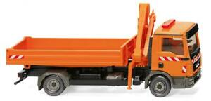 Wiking-67505-Flatbed-Truck-With-Loading-Crane-1-87