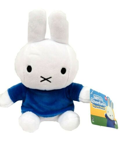 """Miffy/'s Adventures Big and Small Adventures Miffy Plush 7.5/"""" Brand New W// Tags"""