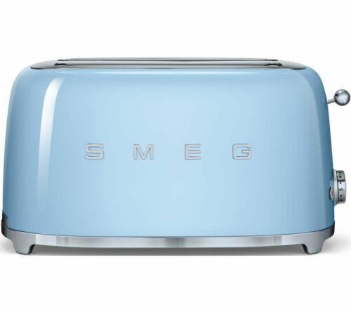 SMEG TSF02PBUK 4-Slice Toaster - Pastel Blue - Currys