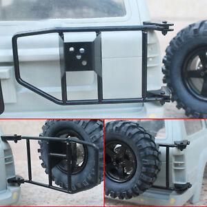 Metall-Ersatzreifenhalter-Fuer-1-10-Land-Cruiser-LC80-RC-Crawler-Auto-Zubehoer-New