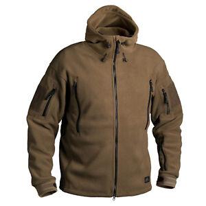 100% Vrai Helikon Tex Us Patriot Heavy Polaire Outdoor Capuche Veste Jacket Coyote M Medium-afficher Le Titre D'origine Belle Apparence