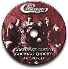CHICAGO STYLE ROCK GUITAR BACKING TRACKS AUDIO CD ANTHOLOGY JAM TRAXS