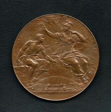 FRENCH / 1889 EXPOSITION UNIVERSELLE PARIS / BRONZE MEDAL BY LOUIS BOTTÉE  M.29