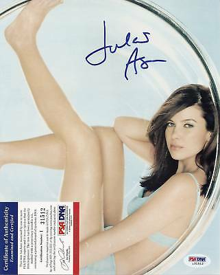 "Jules Asner ""wild On!"" Signed 8x10 Photo Psa/dna Coa Television Entertainment Memorabilia"