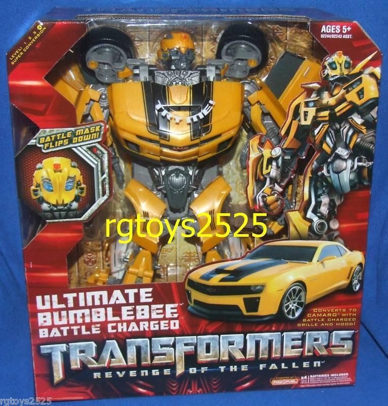Transformers Ultimate Bumblebee Battle Charged Nuevo Venganza De Los Caídos Camaro