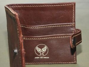 US-Army-AAF-WW2-EASTMAN-OFFICER-ROUGH-WEAR-A-2-DARK-HORSEHIDE-LEATHER-WALLET-NWT
