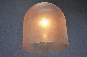 Lampade In Vetro Anni 70 : Grande barbini medusa lampada a sospensione scavo vetro anni