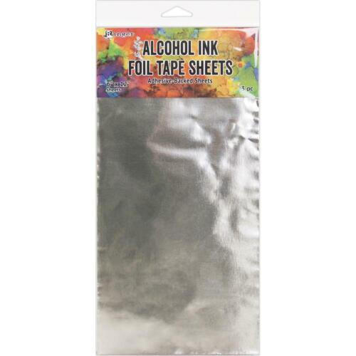 3Pc TAC58540 Ranger Tim Holtz Alcohol Ink Foil Tape Sheets 6x12
