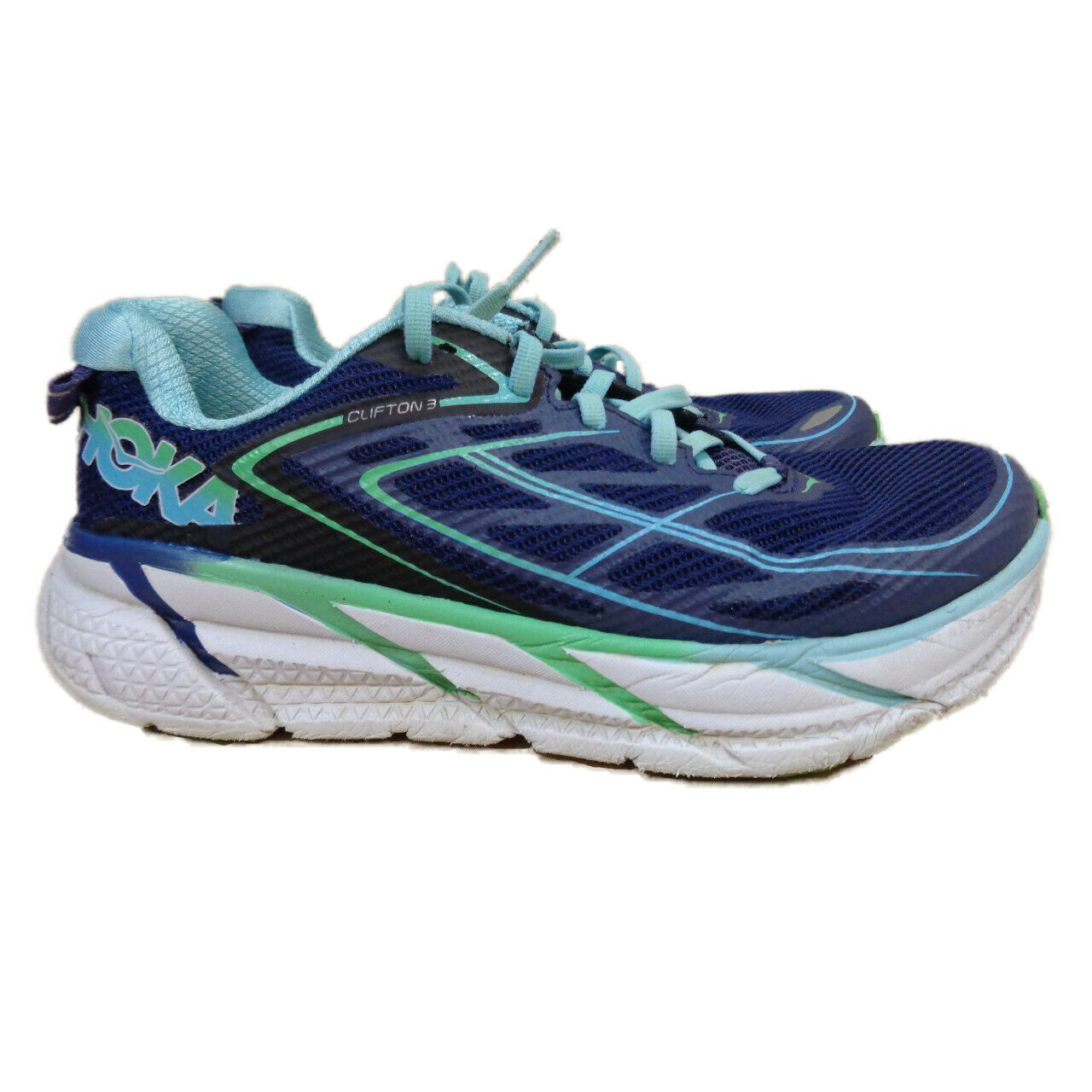 HOKA ONE ONE Clifton 3 Women's Road-Running shoes - US 6.5 (1012045)