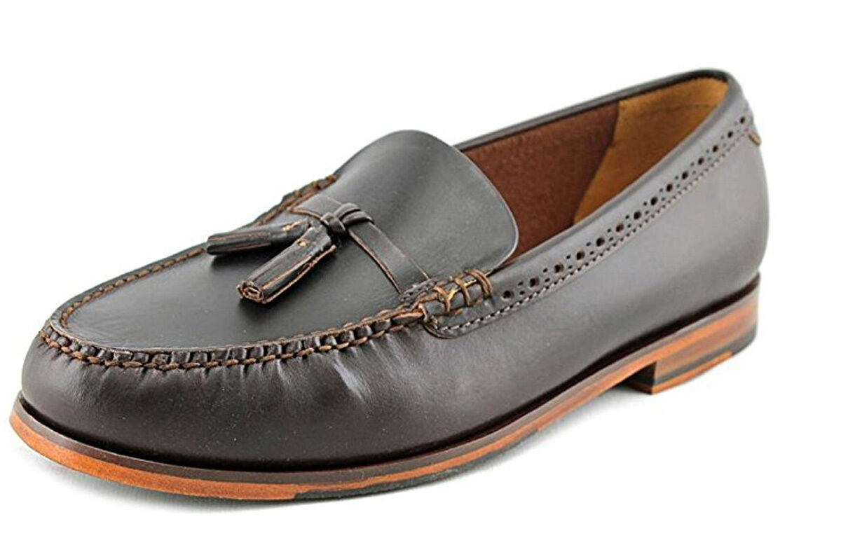 168 Cole Haan Men's Pinch Grand Casual Tassel Loafer shoes Size US 10 Chestnut