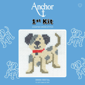 Anchor-1st-Kit-Toby-10003-Counted-Cross-Stitch