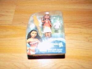 Disney-Moana-of-Oceania-Mini-PVC-Doll-amp-Pua-Pig-Figure-New-Hasbro