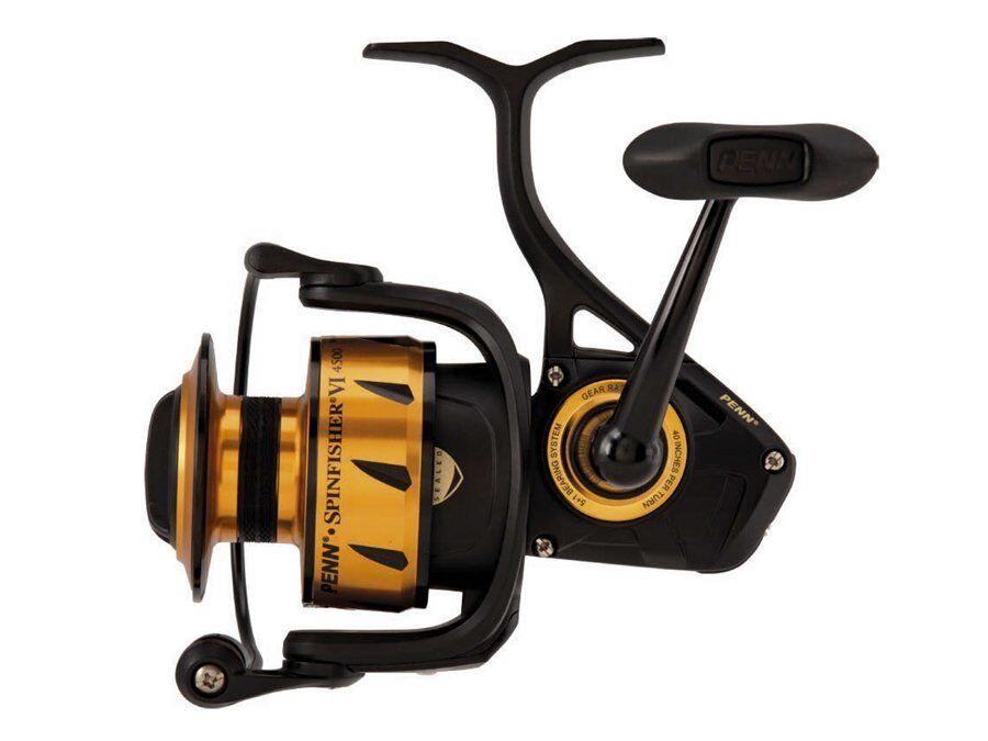 Penn Spinfisher VI pesca Spinning Cocheretes Nuevo-Todos los Tamaños