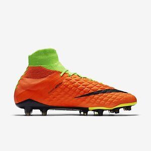 a28a94504 Nike Hypervenom Phantom III DF FG Firm Ground Soccer Cleats 860643 ...