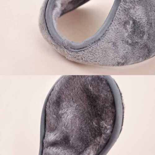Mens Womens Ear Muffs Winter Ear warmers Fleece Earwarmer Behind the Head Band