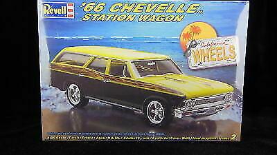 Revell 1966 Chevrolet Chevelle Station Wagon 1 25th Scale Plastic Model Kit  for sale online | eBay