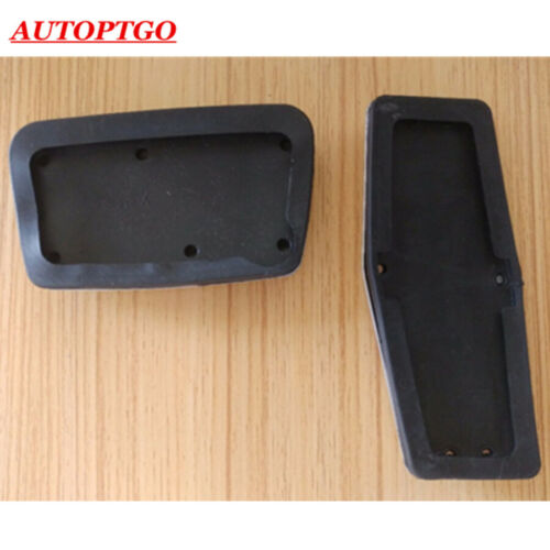 No Drill Car Foot Gas Brake Pedal Pads Cover Kit For Chevrolet Malibu 2012-2016
