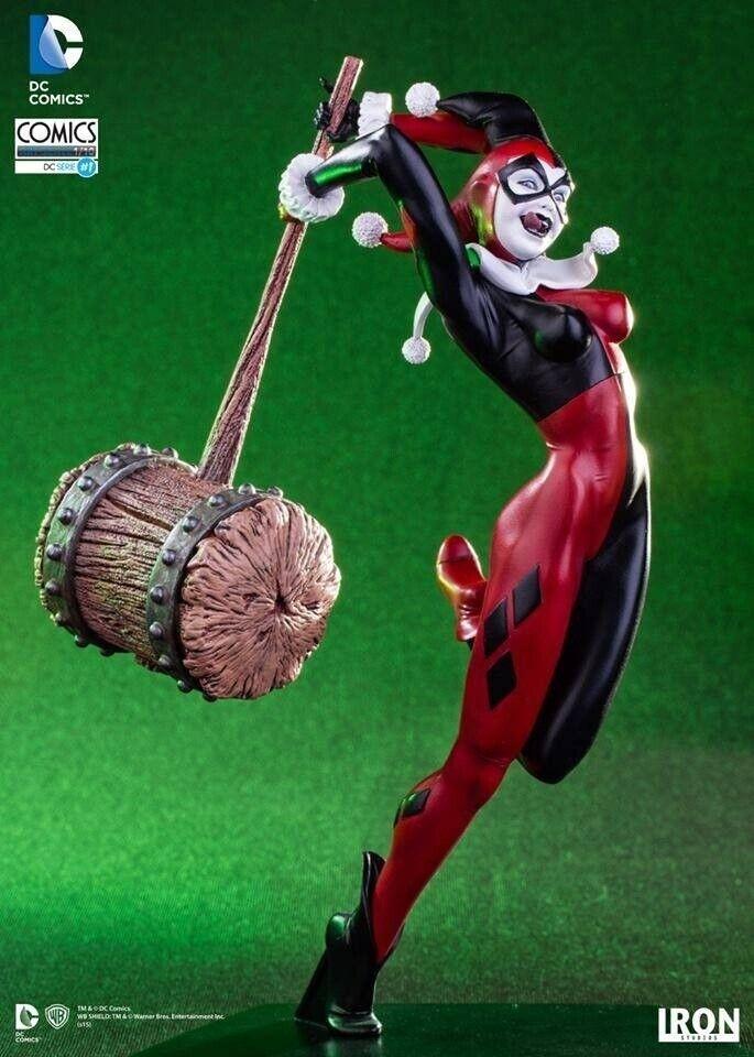 RARE  Harley regina -  Dc Comics - Iron Studios  Ritorno di 10 giorni