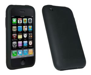 Custodia Cover Silicone (Nero) ~ Apple IPHONE 3g / IPHONE 3gs