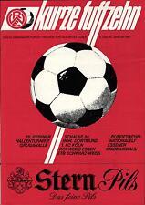 1987 HT Rot-Weiss Essen mit Borussia Dortmund, Schalke, 1. FC Köln, ...