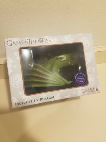 Titans Game of Thrones Rhaegal Dragon Vinyl Figure NYCC Exclusive 2018