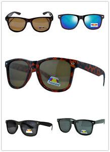 Mens-Womens-Polarised-Wayfarer-Oversize-Vintage-ExtraLarge-Fashion-Sunglasses-88
