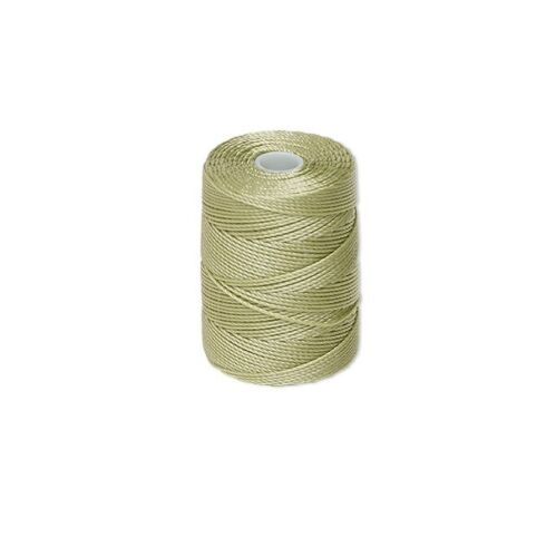 PERIDOT 0.5mm C-Lon nylon 3 ply twisted thread Macrame C-Lon nylon