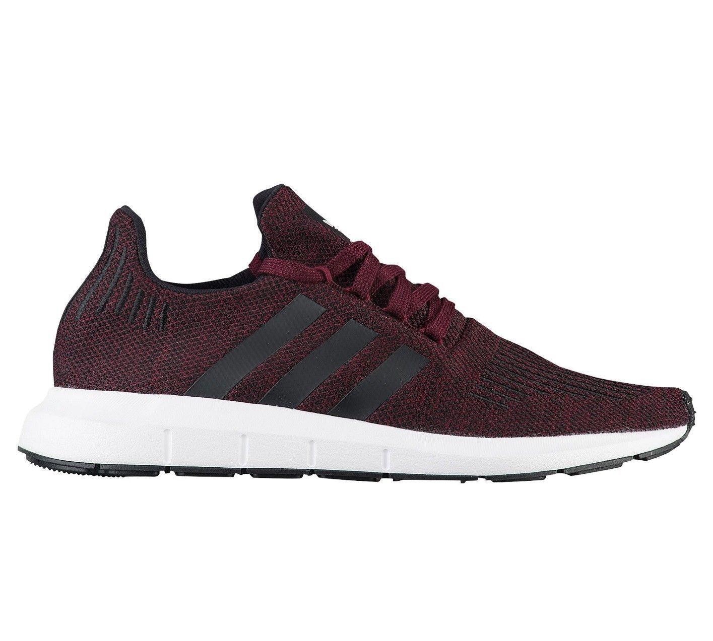 Nuovo * adidas ac8118 swift run Uomo scarpe ac8118 adidas amaranto bianco nero correre a maglia 48d6e4