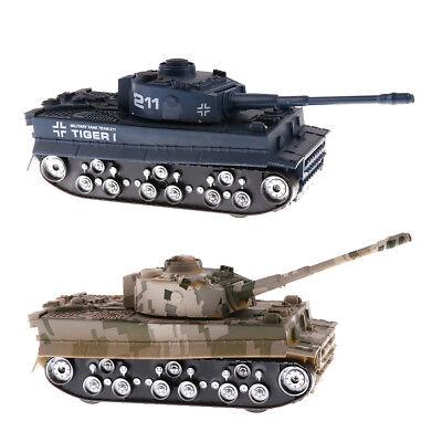 1//32 Cartoon German WW2 Tiger Tank /& brave soldiers team Сaricature scale model