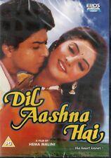 DIL AASHNA HAI - EROS BOLLYWOOD DVD- Shahrukh Khan, Divya Bharati, DimpleKapadia