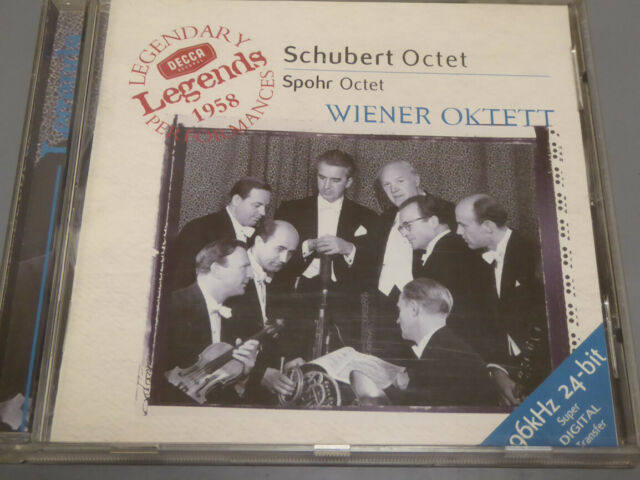 WIENER OKTETT <  Schubert Octet / Spohr Octet  > NM (CD)