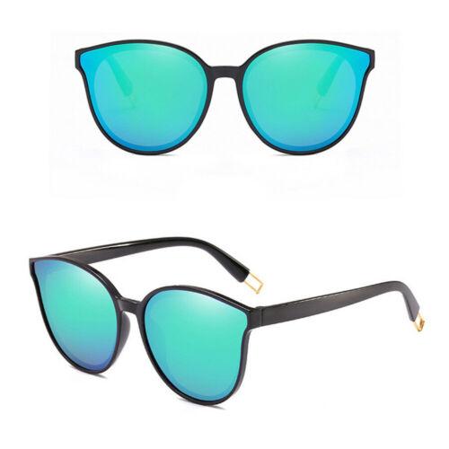 Newly Oversized Sunglasses Cat Eye Flat UV400 Eyewear Mirror Square Lens Glasses