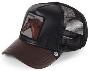 1a04adda642878 Goorin Animal Farm Trucker Baseball Hat Cap Dark Horse Your Majesty ...