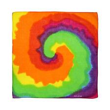Unisex Spirale Multicolore Arcobaleno Gay Pride LGBT Cotton Bandana