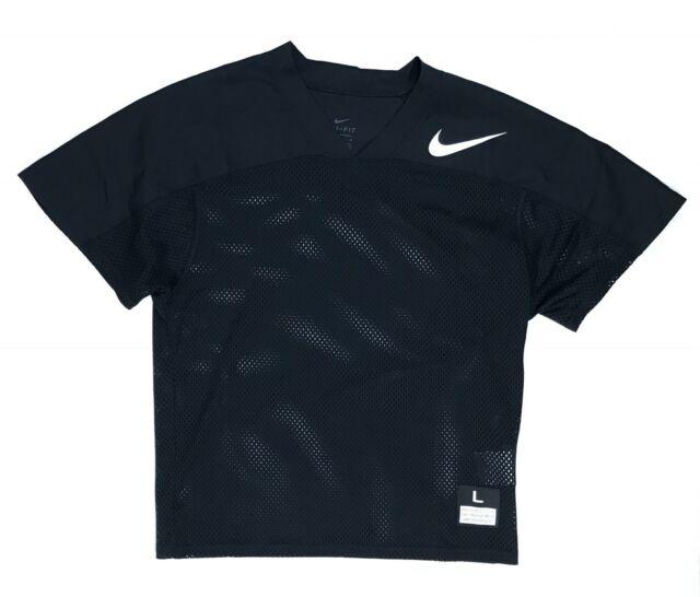 New Nike Mesh Flag Football Jersey Youth Boy s Large Black 854859 Dri-Fit d4ac03c12