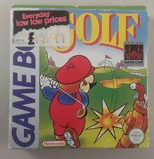 original gameboy game mario golf boxed - gameboy game mario golf