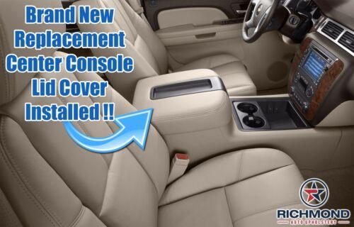 Center Console Lid Cover Tan 2009 2010 Chevy Silverado 1500 2500 3500 LT LS LTZ