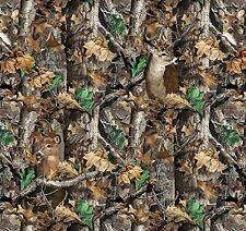Realtree Camo Deer Camoflage Hunting Fleece Fabric by the Yard A505.01