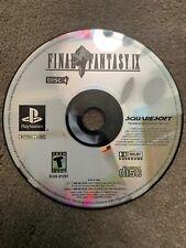 Final Fantasy IX (Sony PlayStation 1, 2000) for sale online