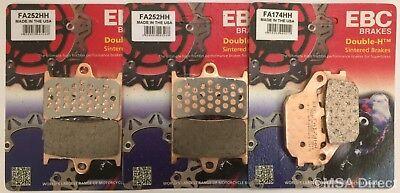 FA174HH EBC Double-H fritté arrière Plaquettes de frein Yamaha MT07 2014 To 2018 1 set