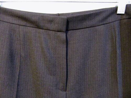 voorkant 46 maagdelijke broek met Escada wollen vlakke Zwarte RqaHAH