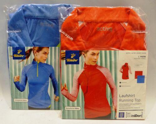 TCM Tchibo Damen-Laufshirt Running Top Langarm Weich und Leicht Atmungsaktiv