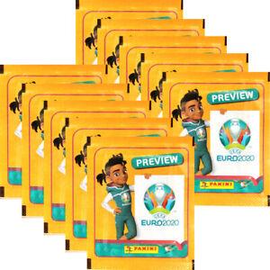 Panini EURO 2020 Preview INTERNATIONALE AUSGABE Sticker 1 Box 60 Tüten Album