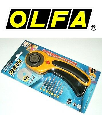 New Olfa 45mm Original Rotary Cutter RTY-2//G