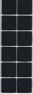 Self Adhesive Felt Foam Pads Dots Squares Protects Furniture Surface Scratches