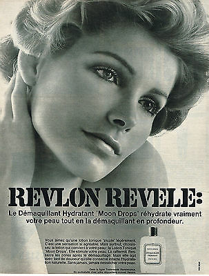 Publicite 1968 Revlon Cosmétiques Moon Drops Catalogues Will Be Sent Upon Request Other Breweriana