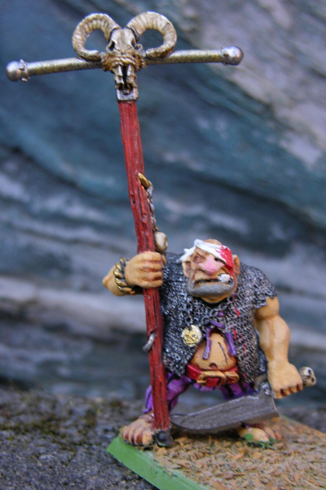 Warhammer Ogre   73 Peint  qualité authentique