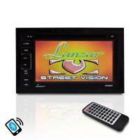 Lanzar Sdn65bt 6.5 Double Din Dvd Bluetooth Cd Am/fm Aux Receiver Monitor