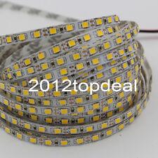 5M 2835 SMD 120led/m 600Leds Warm White Flexible LED Strip 12V Non-waterproof